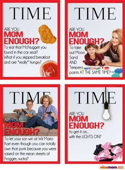 Time Magazine Are you mom enough breastfeeding debate