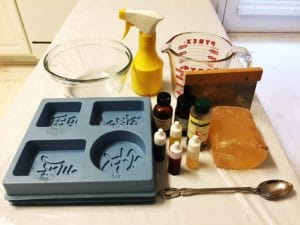 Soap making supplies