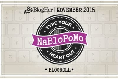 What is NaBloPoMo? You know you wanna know…