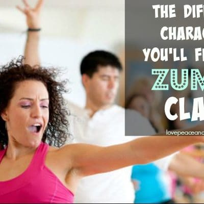 7 characters you'll find in every Zumba class