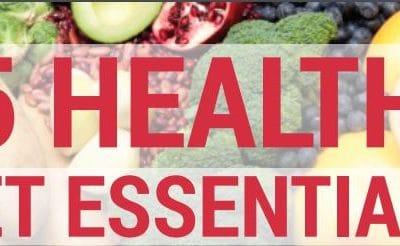 {Infographic} 15 Healthy Diet Essentials
