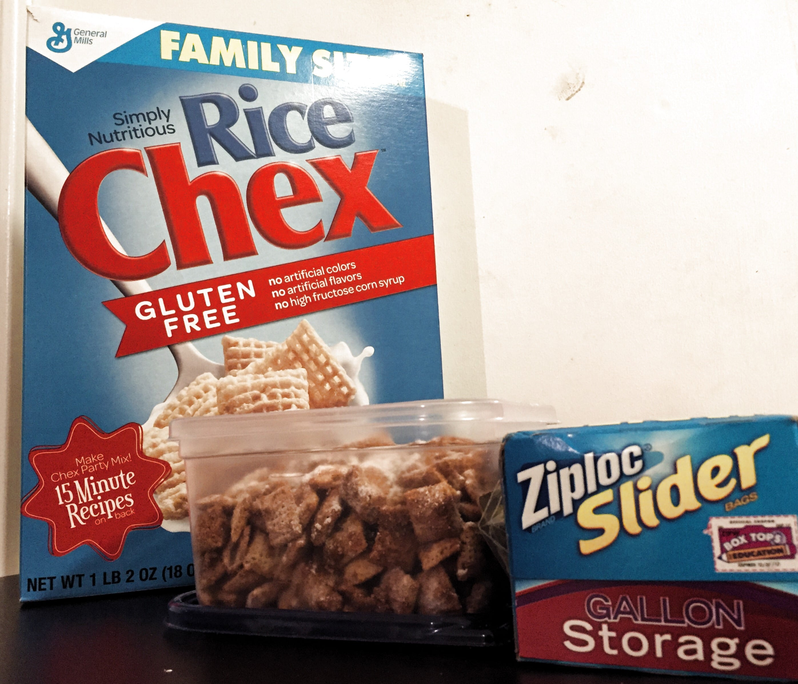 Chex Ziploc Holiday