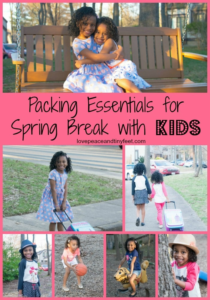 Packing Essentials for Spring Break with Kids
