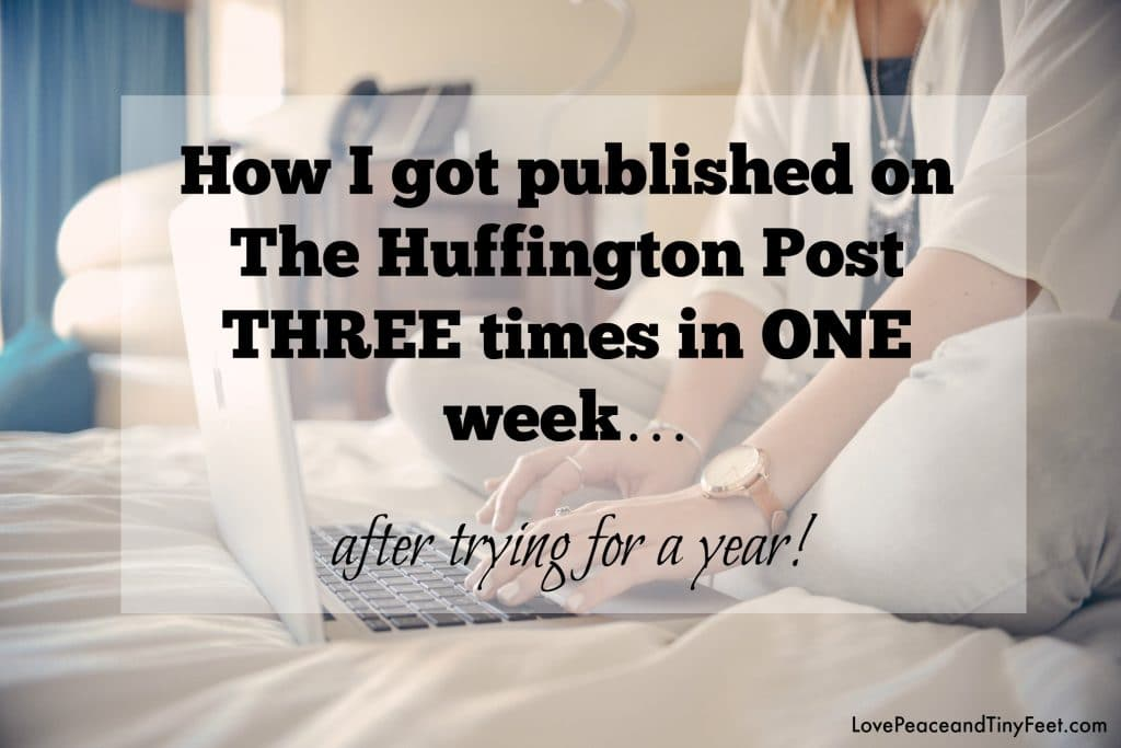 getting published on the huffington post