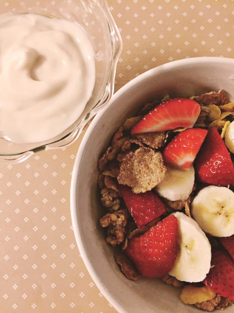 nature valley cereal with fruit