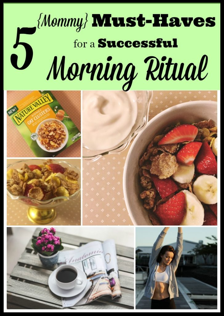 must haves for a successful morning ritual