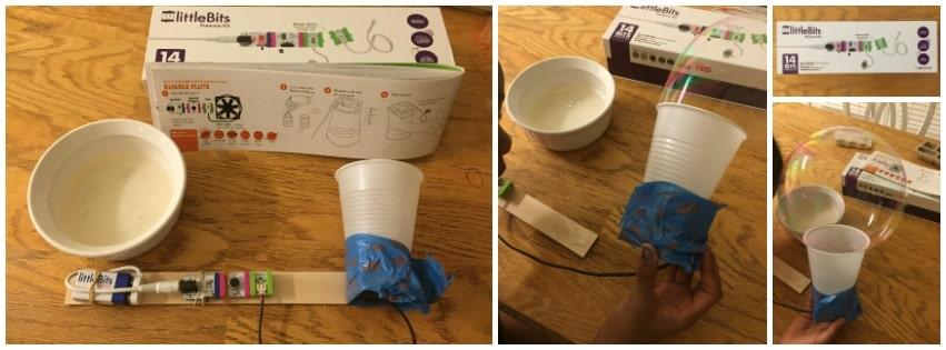 LittleBits Invention Bubble Blower