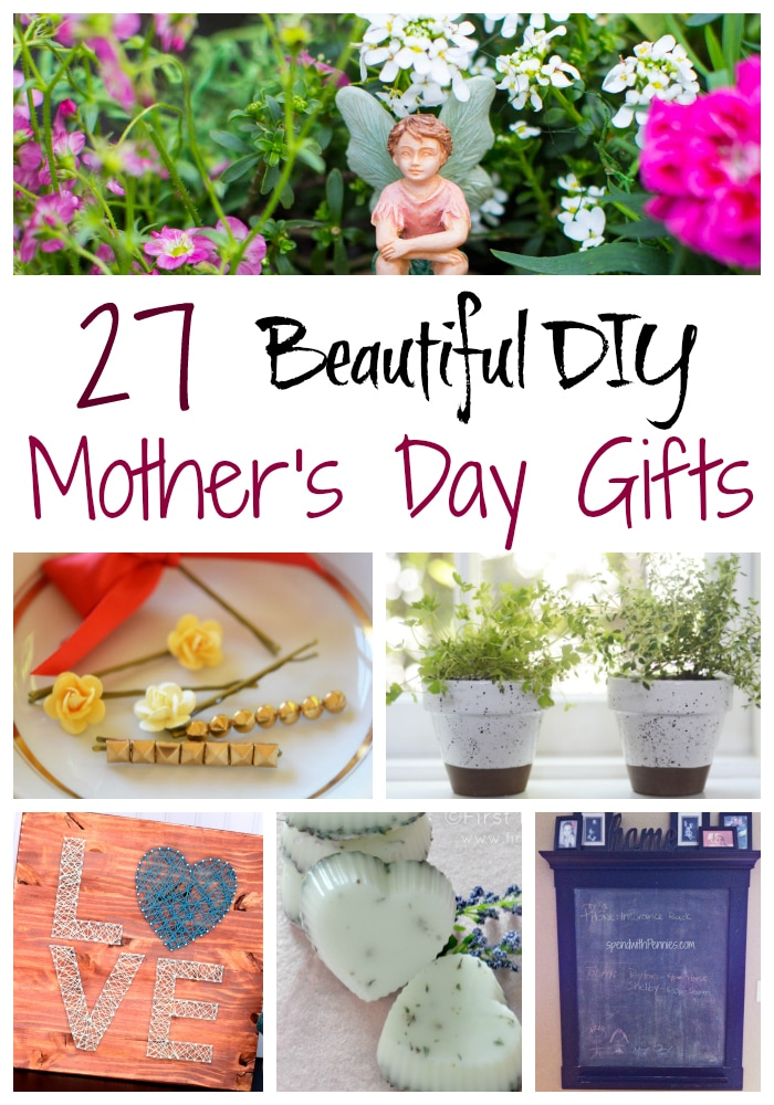 27 Beautiful Diy Mother 39 S Day Gifts And Diy Room Crafts
