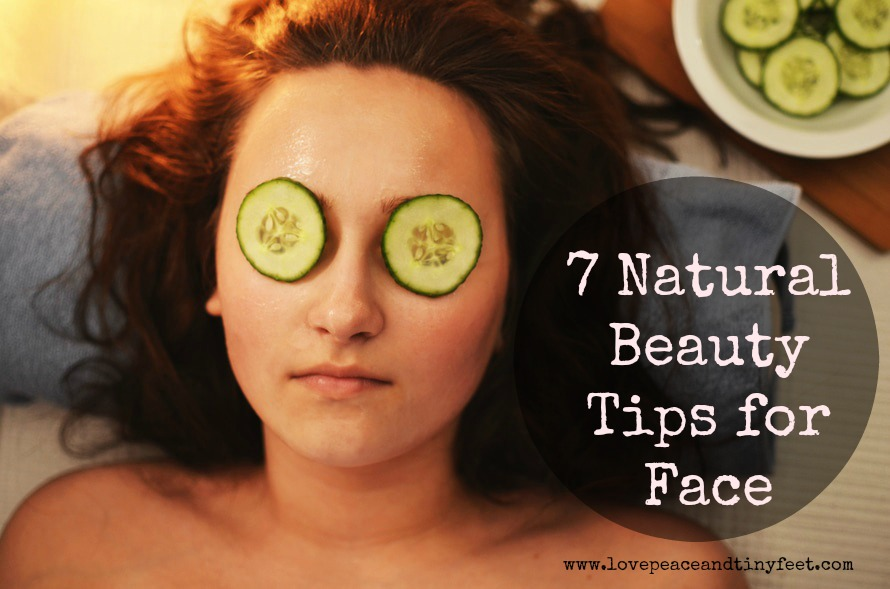 Natural beauty tips for face