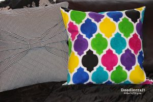 DIY mother's day gift paint a pillow