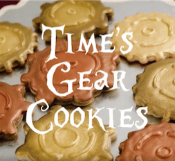 time gear cookies