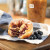 New Blueberry Cobbler Croissant Donut at Dunkin' Donuts