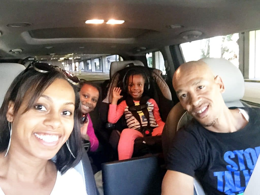 Adams Family Vacation with Kia