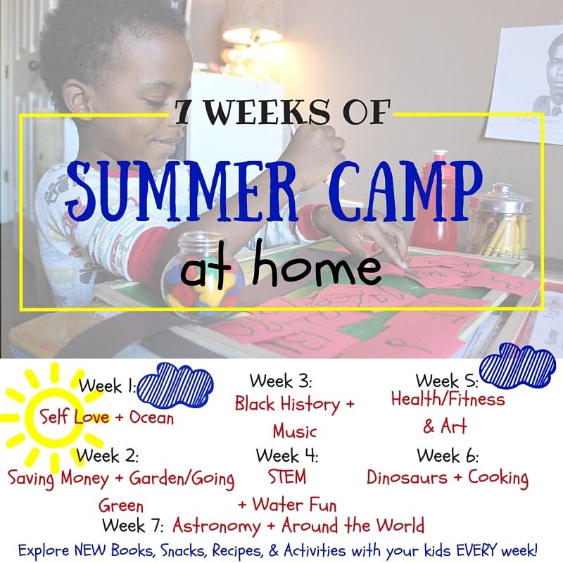 Summer Camp at home series