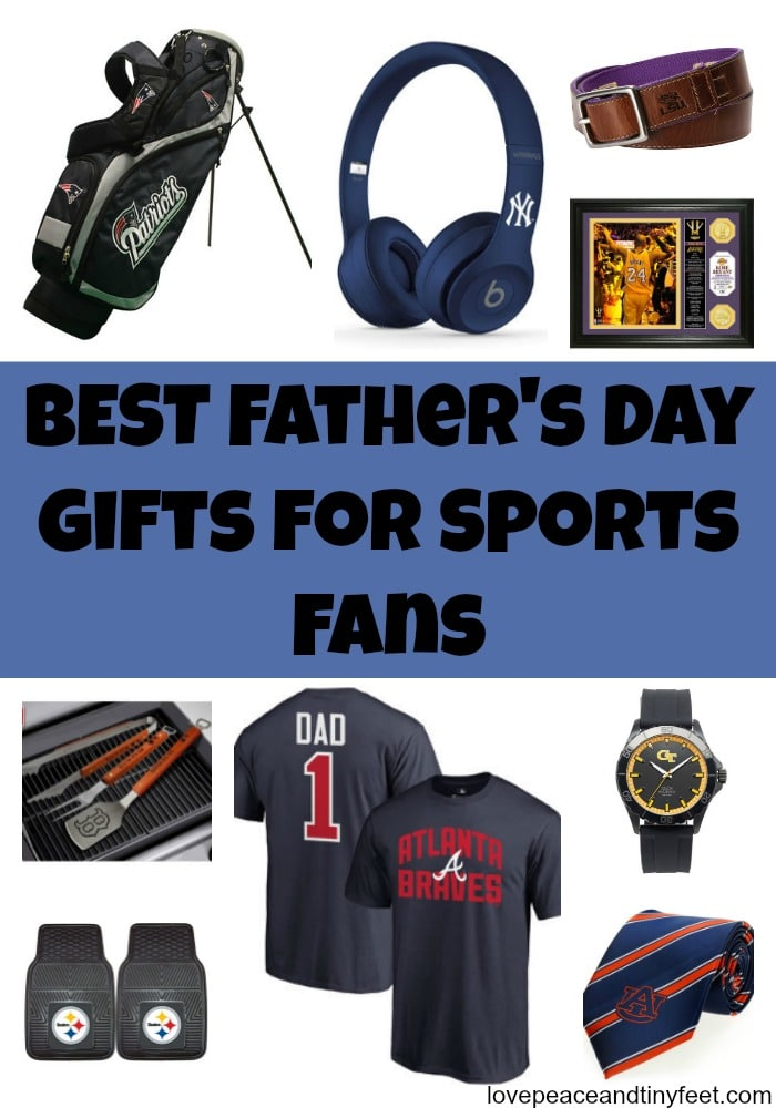 Best Father's Day Gifts for Sports Fans and Fanatics!