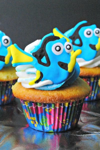Finding Dory Cupcakes Recipe #FindingDory #HaveYouSeenHer