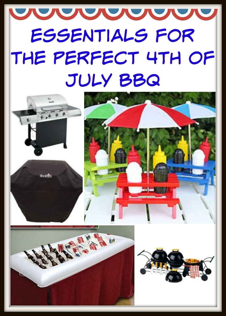 Food, friends & fun are a given, but here's a full checklist you can use to make sure you have everything you need for the perfect 4th of July BBQ.