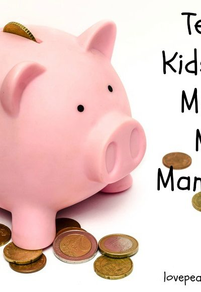 Teaching Kids About Money & Money Management