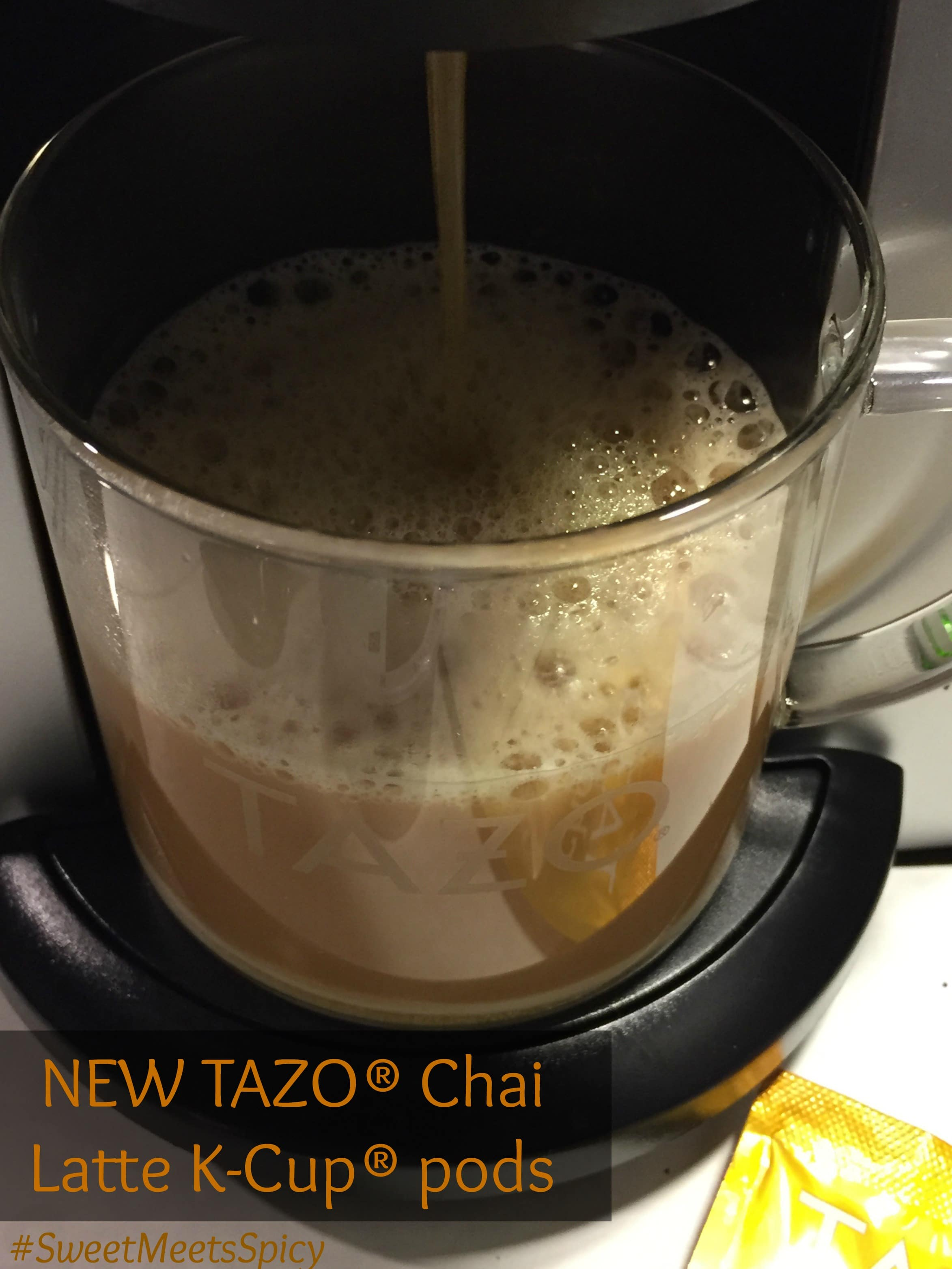 NEW TAZO Chai Latte K-Cup pods #SweetMeetsSpicy