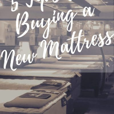 5 Things to Look For When Buying a New Mattress #ShopUPF