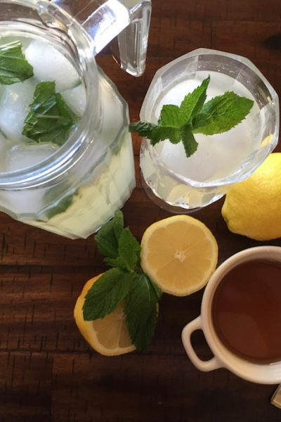 Fresh Ginger and Lemongrass Lemonade Recipe #TastyTuesday