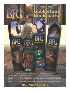 Gobblefunk Bookmarks