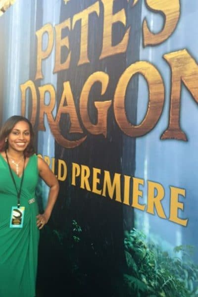 My 1st Red Carpet Premiere Experience #PetesDragonEvent
