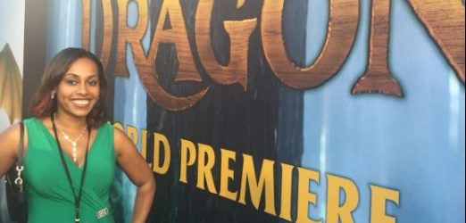 Ari Adams at Pete's Dragon Premiere
