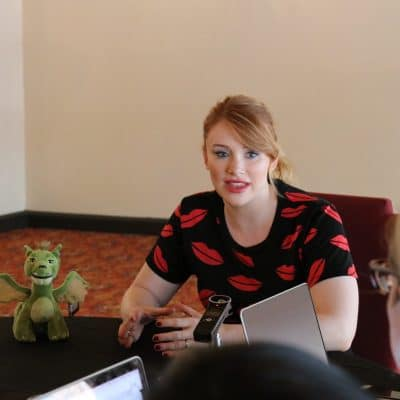Bryce Dallas Howard on What Pete's Dragon Teaches Us About Family, Fantasy, & Following Your Heart #PetesDragonEvent