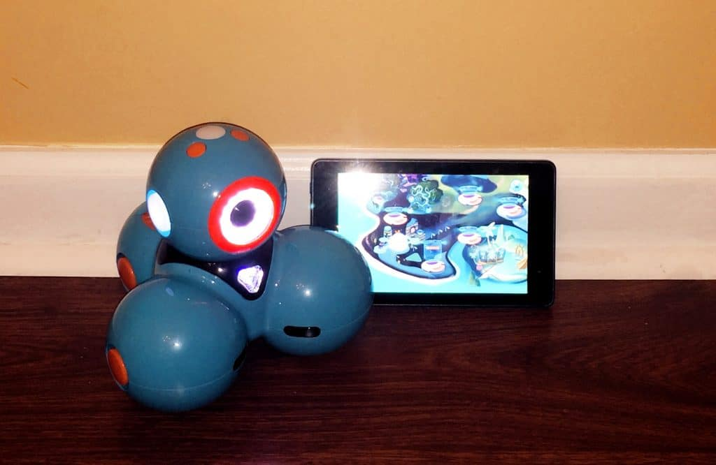 Dash Robot and tablet
