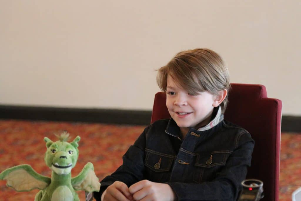 Oakes Fegley Child Actor in Pete's Dragon