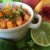 One of the easiest sides to spice up any party is a delicious and festive salsa dip! Wouldn't you agree? This spicy peach salsa is absolutely gorgeous! The combination of colors creates a beautiful presentation, while the delicious blend of sweet and spicy flavors makes it a wonderful addition to simply prepared fish, chicken or pork dishes