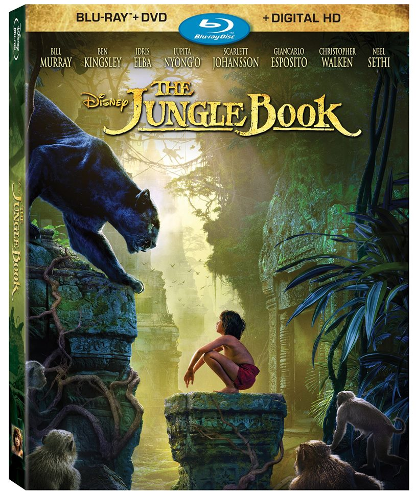The Jungle Book Blu Ray Pack