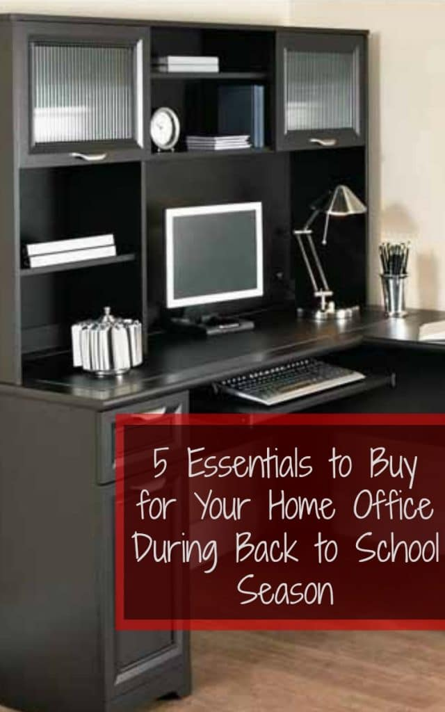 Things to buy for home office during Back to school season - If you're a work-from-home mom, like myself, you also need to make sure you are always fully stocked on things you need to be a success in your home business as well. Luckily, in addition to the kids' school supplies, I've also been able to find lots of affordable supplies for the home office at Office Depot® OfficeMax®. From storage containers to notepads, there are quite a few items you should definitely stock up on.
