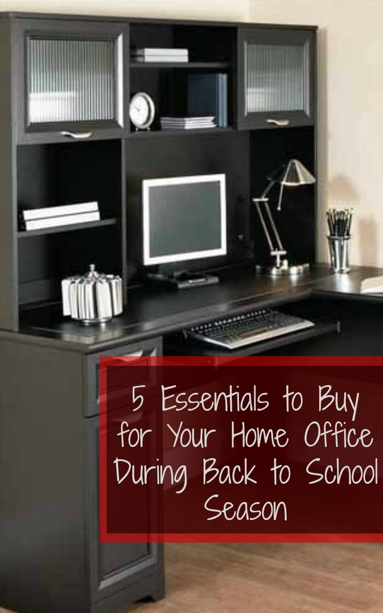 Simple Items to Buy for Your Home Office During Back to School Season Plus Giveaway GearingParentsUp GearUpForSchool