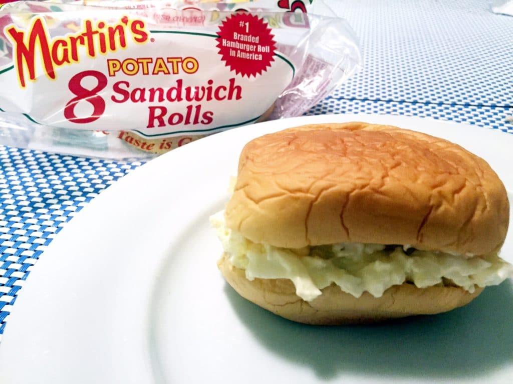 Easy Breakfast Sandwich - Egg Salad Sandwich