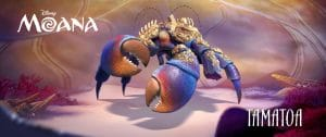 Tamatoa crab from movie Moana