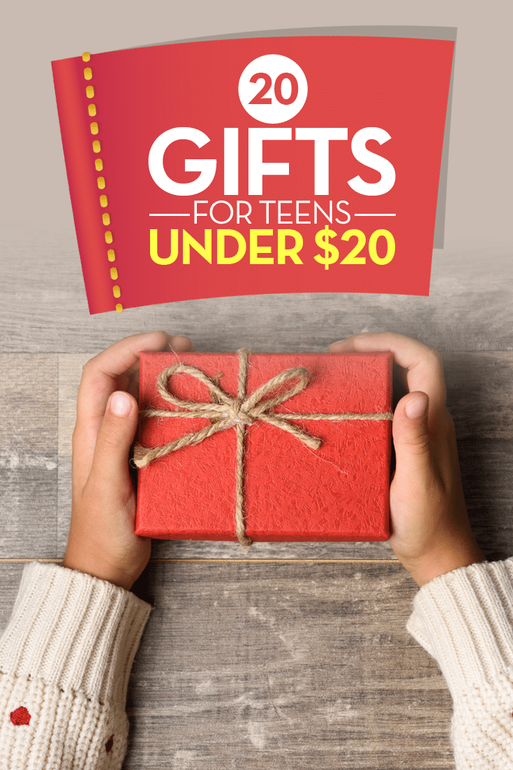 If you're looking for an affordable gift idea for teenagers, you're sure to find something they'll love on this list of 20 gifts for teens under $20.