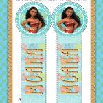 Moana DIY Bookmarks