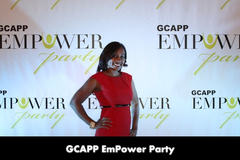 Ari Adams, Blogger at GCAPP Empower Party in Atlanta GA