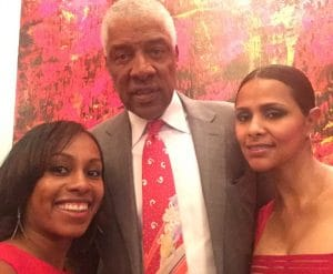 Julius Erving (Dr. J)  at GCAPP Empower Party in Atlanta GA