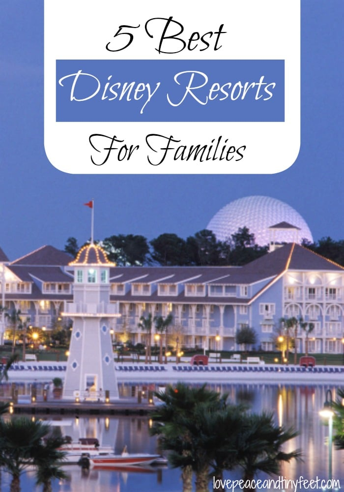 5 best disney world resorts for families for Great little hotels of the world