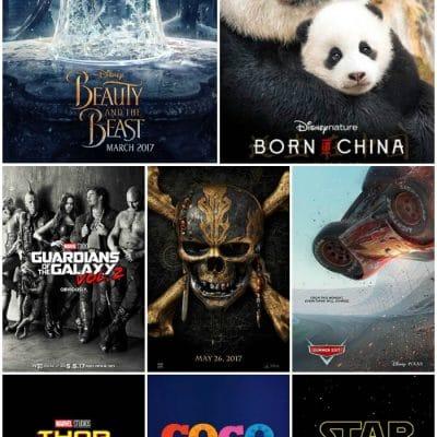 2017 Disney Movie Releases #Cars3Event
