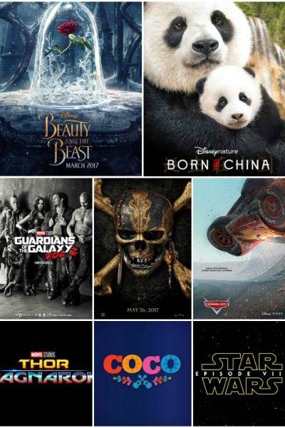2017 Disney Movie Releases