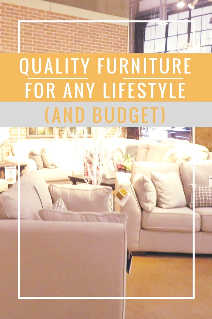 Quality furniture for any lifestyle and budget at Underpriced