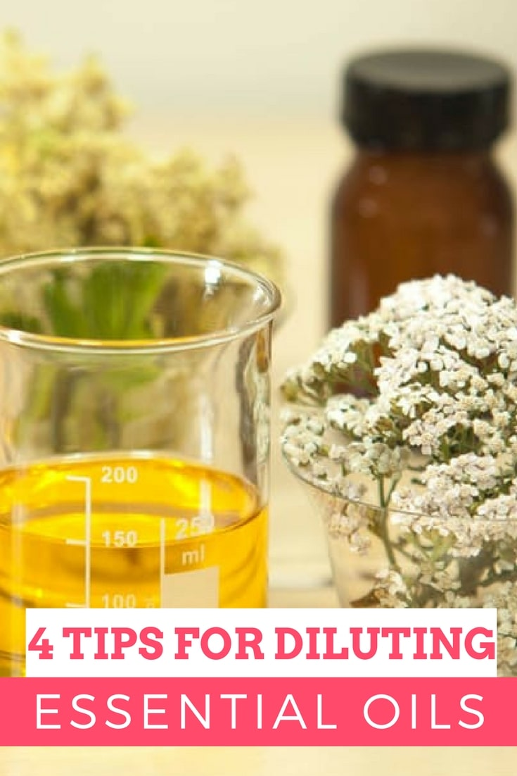 there are some really important guidelines to follow when it comes to diluting essential oils. This is a critical step in using essential oils safely, since they can be quite potent and potentially harmful if uses incorrectly. If you're new to using essential oils, start with my post on How to Use Essential Oils.