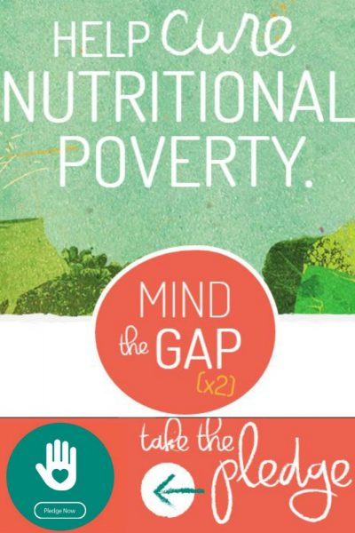 Pledge to close your Nutrition Gap, Plus 35 tips to improve your health today