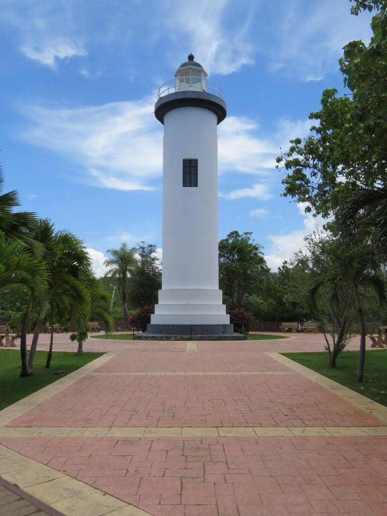 lighthouse in rincon puerto rico