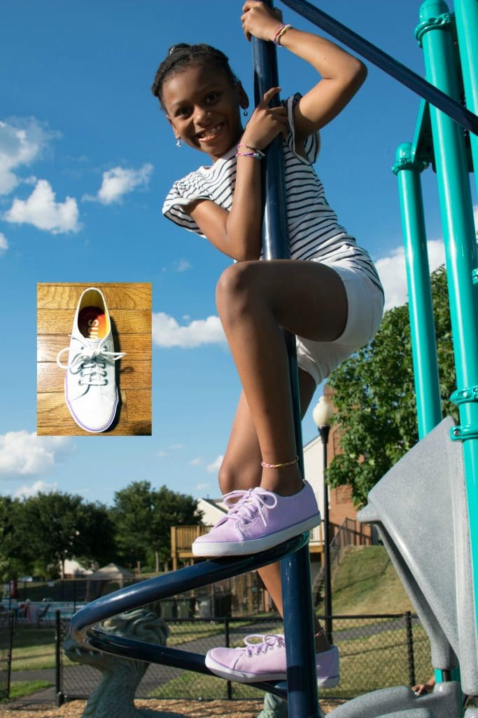 Suns Shoes that change color in sunlight