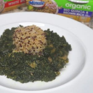 African recipe with quinoa instead of rice